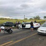 Homem de 49 anos morre em grave acidente na BR-101