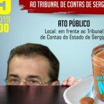 Sindicatos montam  agenda de protesto contra retorno de Flávio Conceição ao TCE