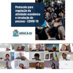 Prefeitura de Aracaju torna público Protocolo de Regulação da economia e da circulação de pessoas