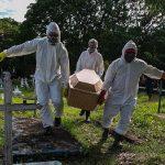 Brasil registra quase uma morte por minuto nas últimas 24h