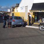 Assalto a mercearia termina com assaltante ferido, outro preso pela Guarda Municipal de Rosário