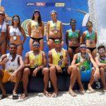 Sergipanos são vice-campões brasileiros sub-21 de vôlei de praia