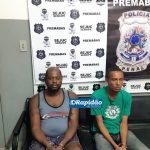 Dois são detidos jogando celulares e drogas por cima do muro do presídio de Tobias Barreto