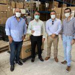 Corretora Banese doa testes para ajudar no combate ao coronavírus