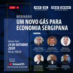 FIES lançará estudo sobre o gás natural em Sergipe