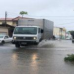 Fortes chuvas causam transtornos em Aracaju