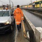 Defesa Civil emite alerta de chuvas e maré alta para as próximas 72h