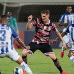 Confiança segue sem vencer na Copa do Nordeste
